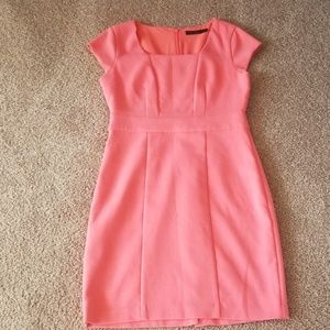 The Limited coral dress